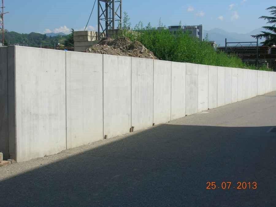 Muro Di Contenimento Confine.Muri Di Contenimento Ad L