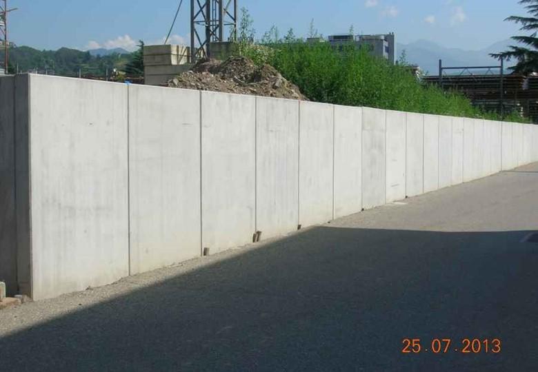Muro Di Sostegno A Confine.Muri Di Contenimento Ad L